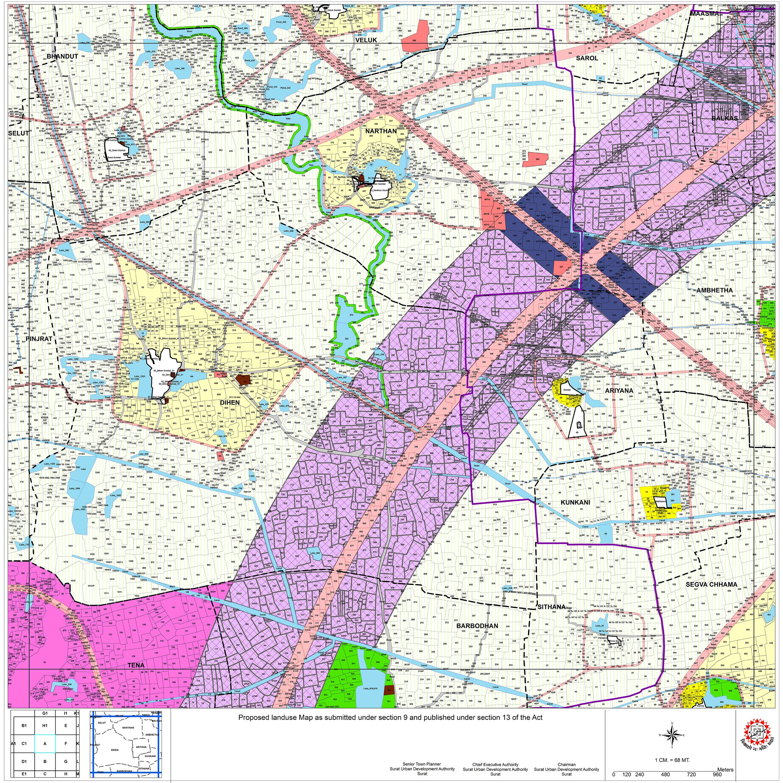 Proposed Landuse Plans SUDA
