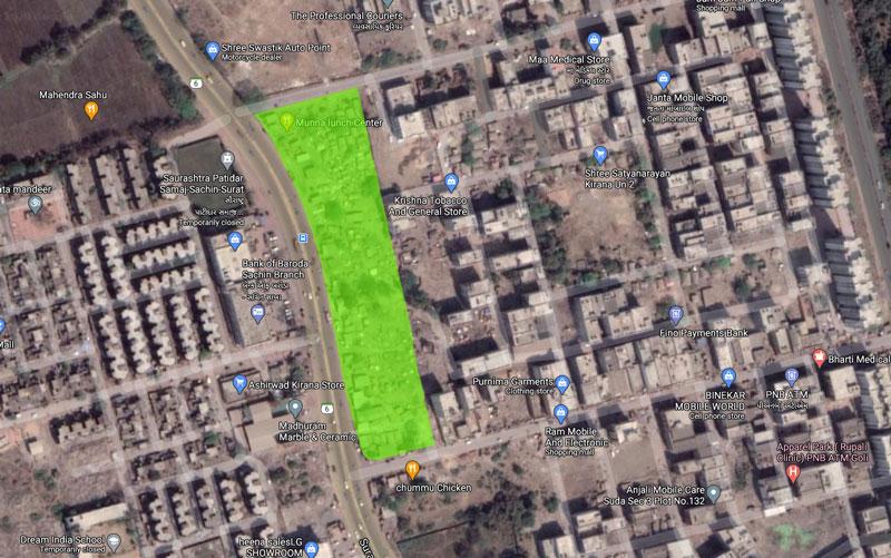 SUDA - Sachin Sector 2 Google Map